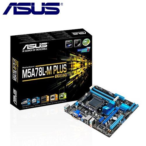 ASUS華碩 M5A78L-M PLUS/USB3 主機板