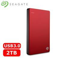 Seagate希捷 Backup Plus 2.5吋 2TB 行動硬碟 紅