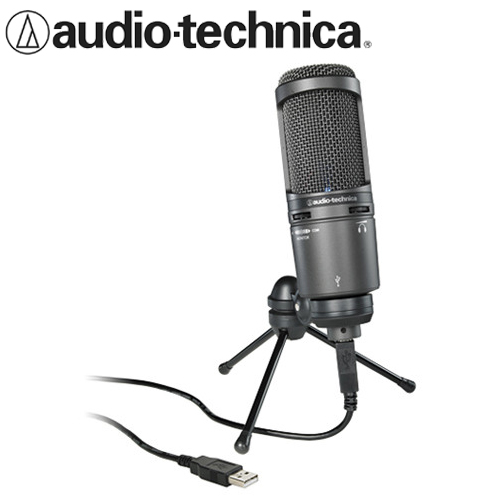 Eclife-audio-technica  AT2020USB+