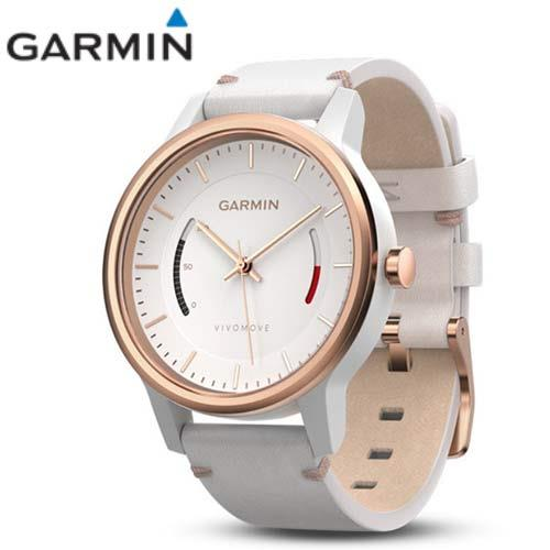 Garmin vivomove 智慧指針式腕錶 (CLASSIC典雅款─玫瑰金)