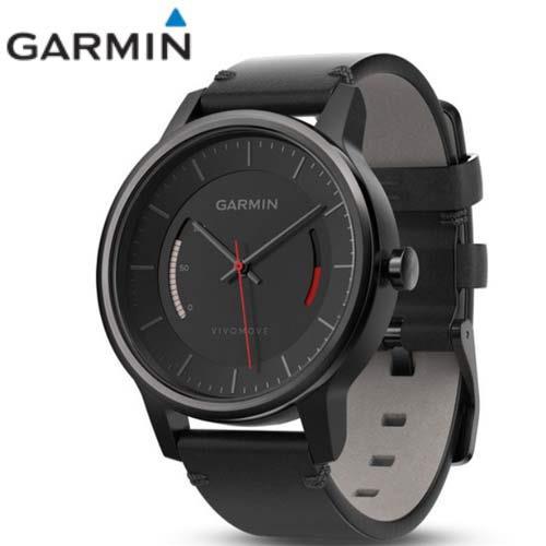 Garmin vivomove 智慧指針式腕錶 (CLASSIC典雅款─黑)
