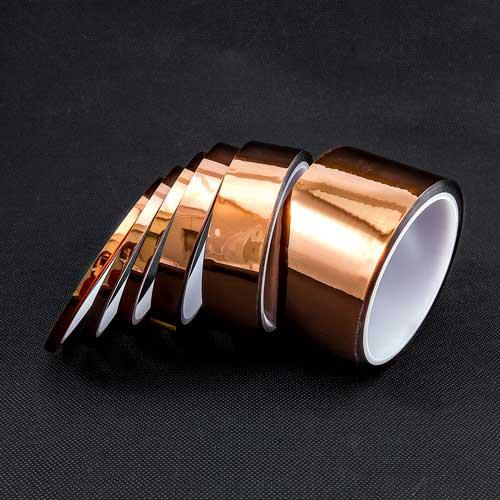 PI茶色耐高溫膠帶12mm 33M (聚醯氬胺)