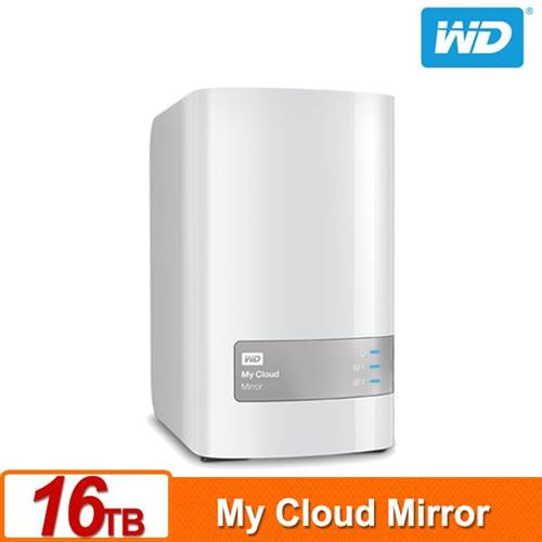 WD My Cloud Mirror(Gen2) 16TB(8TBx2) 雲端儲存系統