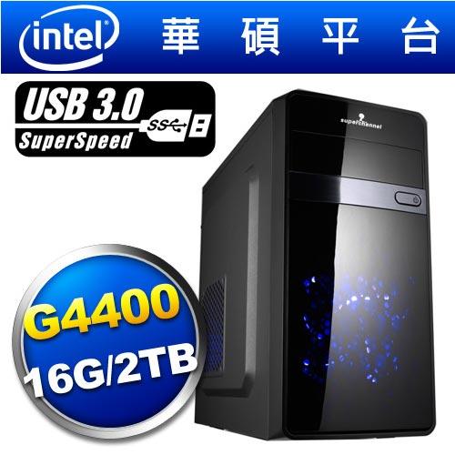 華碩H170平台【荒野獸王】雙核燒錄效能電腦
