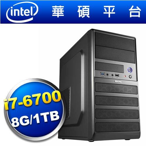 華碩B150平台【斬靈武士】i7四核效能電腦