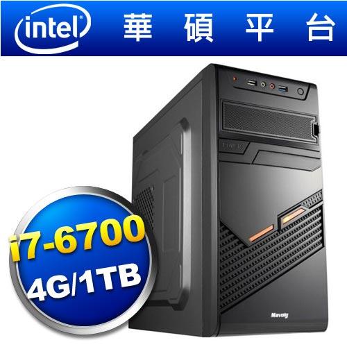 華碩H110平台【黑暗天神】i7四核效能電腦