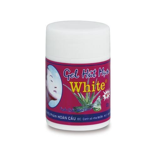 泰國White-蘆薈膠毛孔粉刺凝膠面膜22g(附面膜紙)