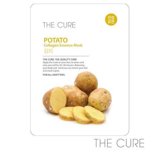 韓國THE CURE馬鈴薯保濕膠原蛋白精華面膜(1片)