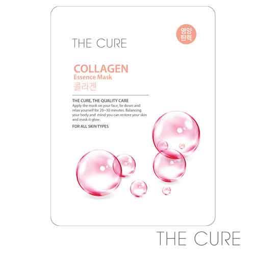 韓國THE CURE-膠原蛋白抗皺精華面膜(1片)