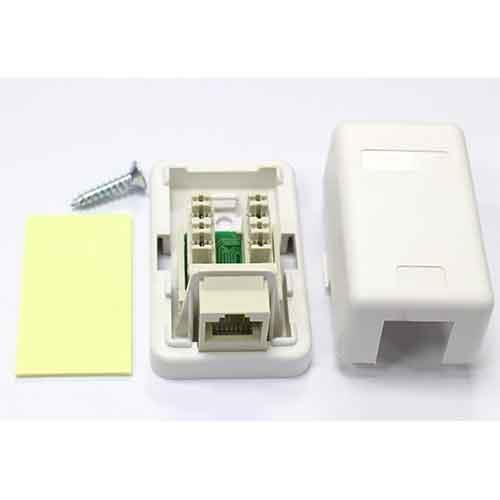 單孔資訊插座