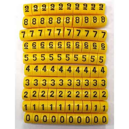 0-9號碼環(每號10顆共100入)