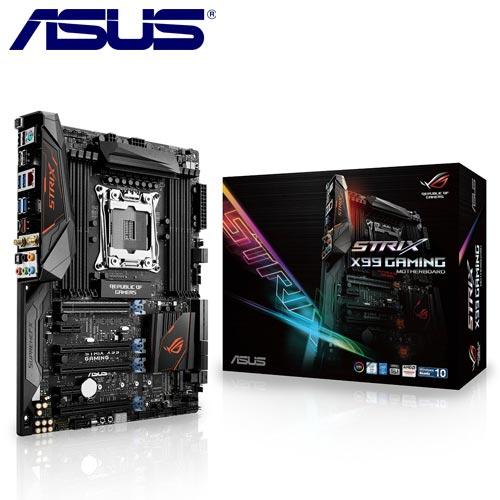 ASUS華碩 STRIX X99 GAMING 主機板