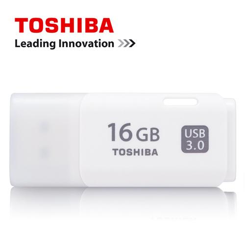 TOSHIBA 16GB USB3.0 輕巧雪白 UHYBS悠遊碟 U301