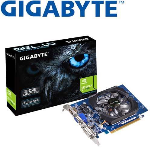 GIGABYTE技嘉 GeForce® GV-N730D5-2GI 顯示卡