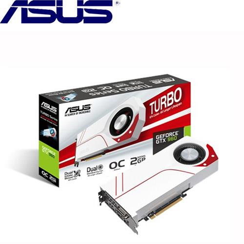 ASUS華碩 GeForce® TURBO-GTX960-OC-2GD5 顯示卡