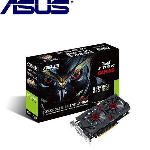 ASUS華碩 GeForce® STRIX-GTX950-DC2OC-2GD5-GAMING 顯示卡