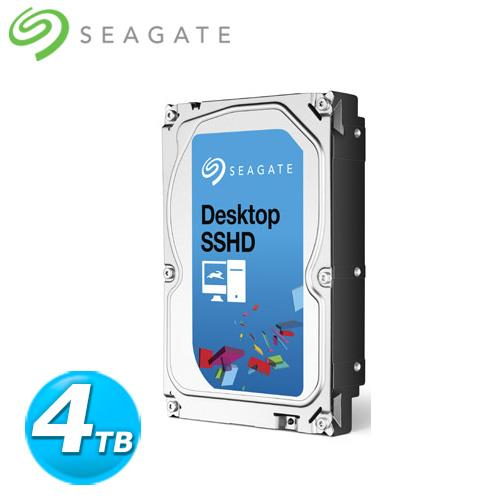 Seagate Desktop SSHD 3.5吋 4TB 桌上型固態混合式內接硬碟