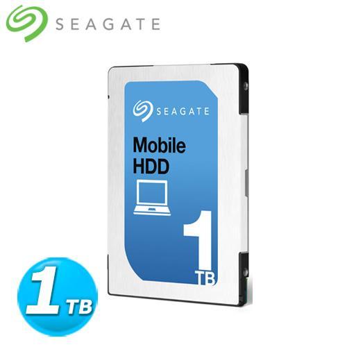 Seagate Mobile HDD 2.5吋  1TB 內接硬碟