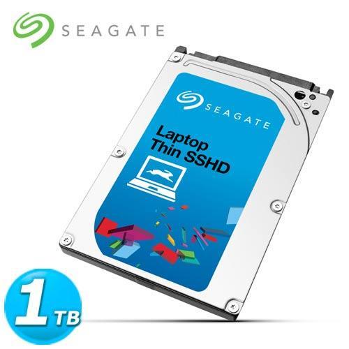 Seagate Laptop SSHD 2.5吋 1TB 筆電用固態混合內接硬