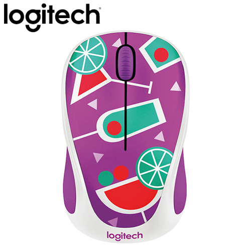 Logitech 羅技 M238 無線滑鼠 雞尾酒