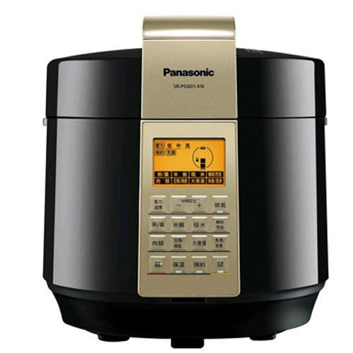 PANASONIC微電腦壓力鍋 SR-PG601