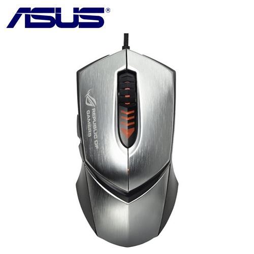 ASUS 華碩 ROG GX1000 鷹眼電競滑鼠 銀