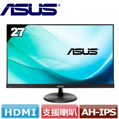 R2【福利品】ASUS華碩 VC279H 27型低藍光不閃屏寬螢幕