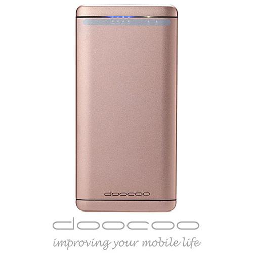 doocoo iFast 8500+ 雙向閃充 智能行動電源 (支援Type C) - 香檳金