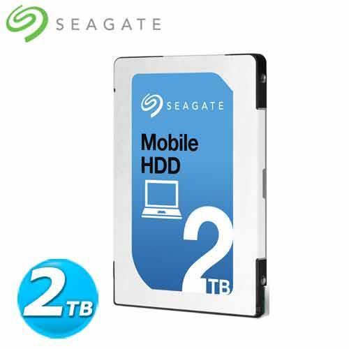 Seagate Mobile HDD 2.5吋 超薄型 2TB 內接硬碟