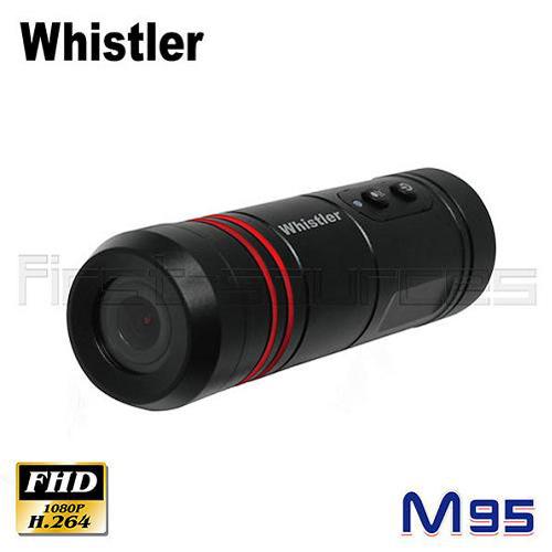 Whistler 1080P M95 機車用行車記錄器 炮管型