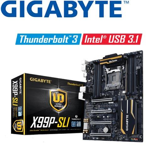 GIGABYTE技嘉 GA-X99P-SLI 主機板