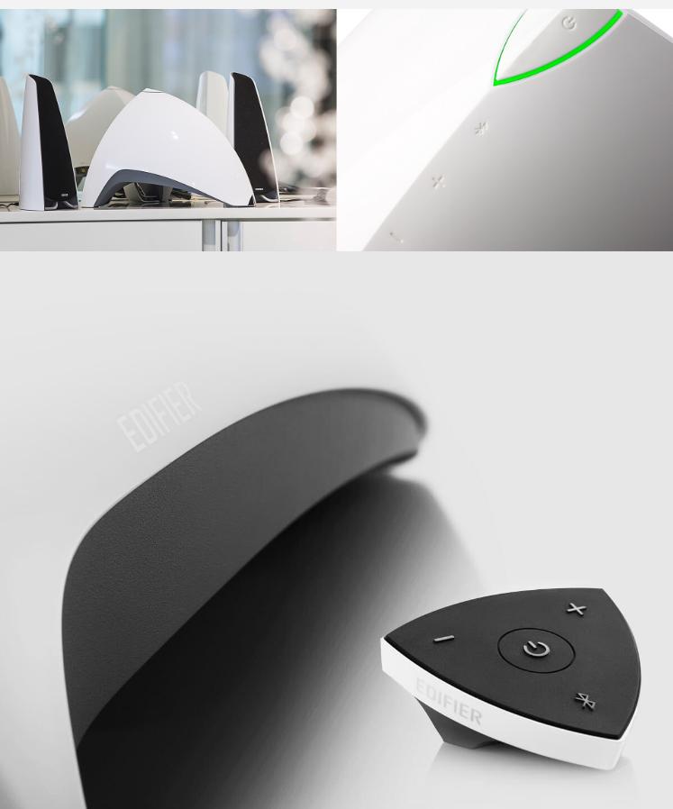 EDIFIER E3360BT 遊戲專用 三件式喇叭