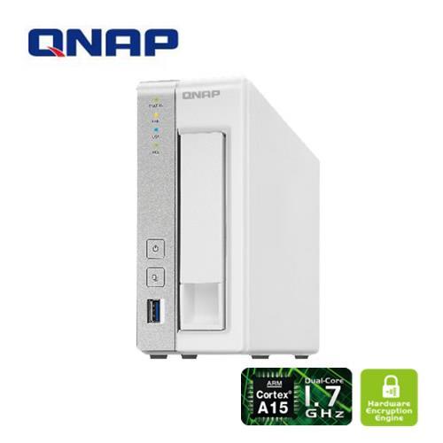 QNAP威聯通 TS~131P 1Bay 儲存伺服器