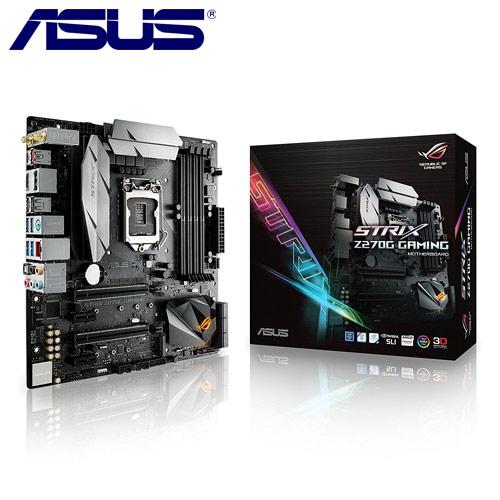 ASUS華碩 ROG STRIX Z270G GAMING 主機板