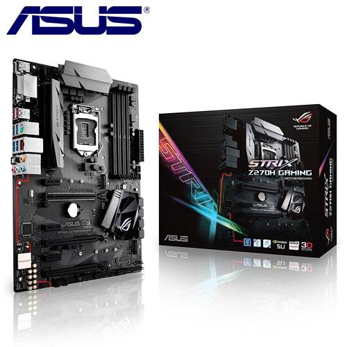 ASUS華碩 ROG STRIX Z270H GAMING 主機板