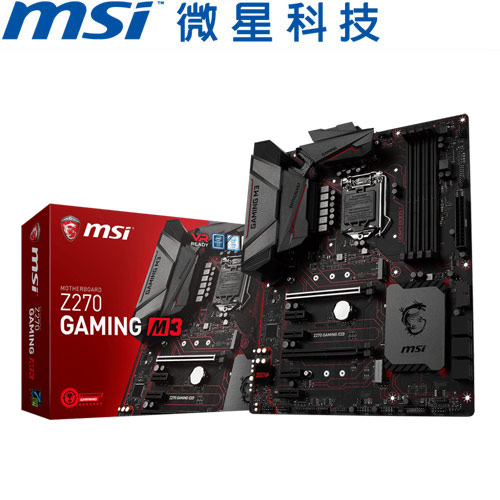 MSI微星 Z270 GAMING M3 主機板
