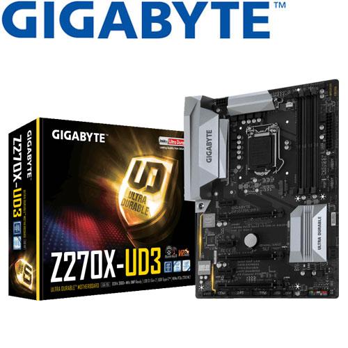GIGABYTE技嘉 GA-Z270X-UD3 主機板