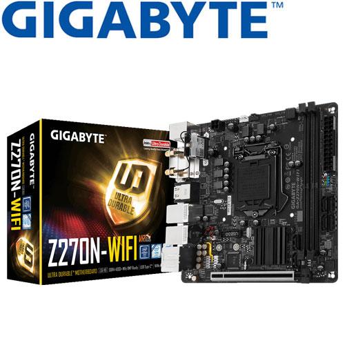 GIGABYTE技嘉 GA-Z270N-WIFI 主機板