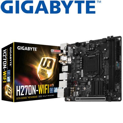 GIGABYTE技嘉 GA-H270N-WIFI 主機板