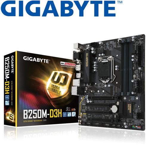 GIGABYTE技嘉 GA-B250M-D3H 主機板