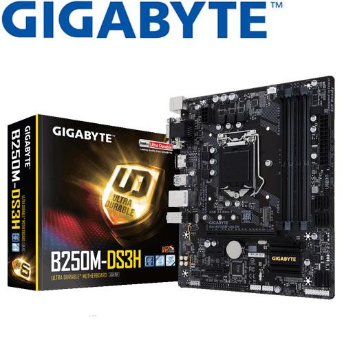 GIGABYTE技嘉 GA-B250M-DS3H 主機板
