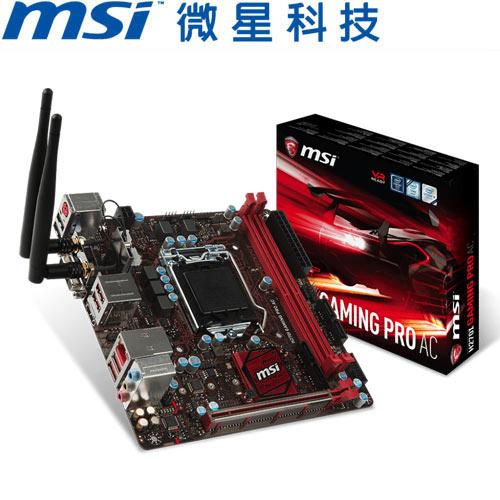 MSI微星 H270I GAMING PRO AC 主機板
