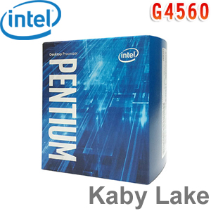 Intel英特爾 Pentium G4560 處理器