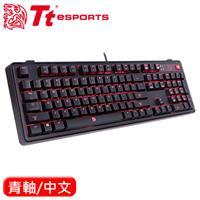 Thermaltake 曜越 拓荒者Pro 背光機械鍵盤Cherry 青軸 中文