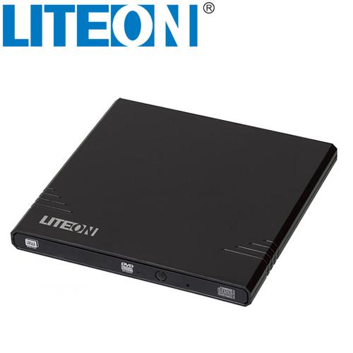 LITEON eBAU108 超薄型外接式燒錄器 黑