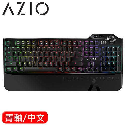AZIO MGK L80 RGB 電競機械鍵盤 青軸