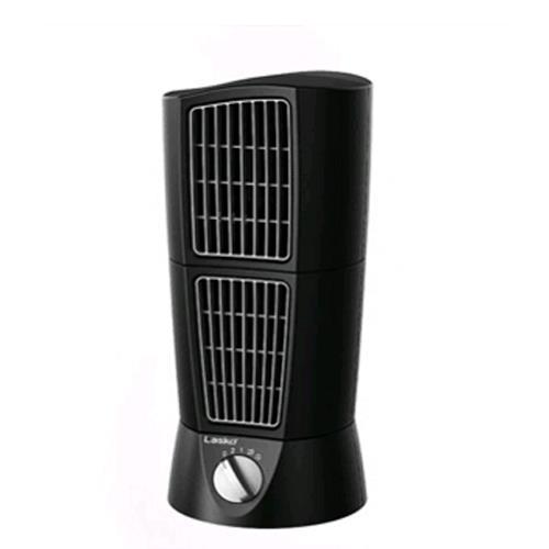 【美國 Lasko】AirTwins 雙子座 多功能雙旋風 桌上型循環風扇 T14306TW