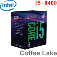 Intel英特爾 Core i5-8400 處理器