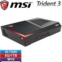 【福利品】MSI微星 Trident 3 7RB-088TW電競桌機