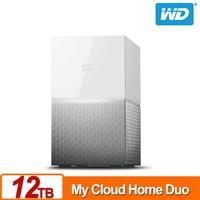 WD My Cloud Home Duo 12TB(6TBx2) 網路儲存伺服器